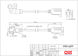 qvs external power cables 5 15r Outlet Diagram angled designed free up those power outlets behind furniture or desk and eliminates bending cord (connectors ac angle nema 5 15p male to nema 5 15r female Outlet 5- 15 20R
