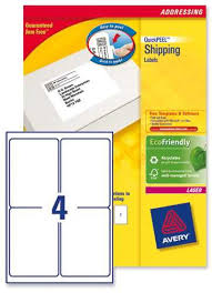 avery sheet labels l7169 avery laser labels 4 per sheet 100 sheets