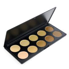 kryolan brand makeup maquiagem 10 color concealer palette powder professional camouflage hkpost cosmetics kit china