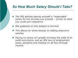 Attorney General Tax Chart 2019 Calculating Reasonable Shareholder Salary Watson Cpa Group