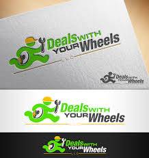 logo design by nivleik for deals with your wheels design 12006604
