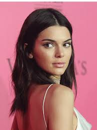 kendall jenner hair victorias secret