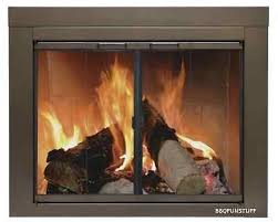 pleasant hearth glass fireplace door abberly bronze large ab 1052 mesh