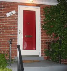 red front door on brick house. Fabulous Red By Valspar Front Door On Brick House C