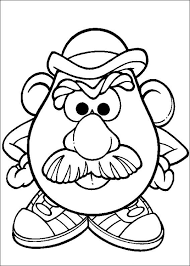 mr and mrs potato head coloring pages. Mr Potato Head Intended And Mrs Coloring Pages