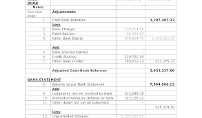 Use A Excel Reconciliation Template To Help Your Finances
