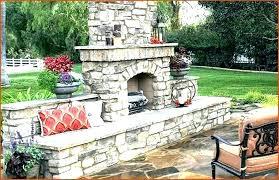 backyard fireplace ideas outdoor patio wood burning fireplace outdoor fireplace kits patio how to build wood