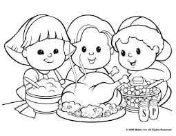 Small Picture Thanksgiving free printable coloring pages