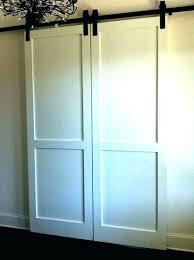 door closets barn style doors for closets bypass barn doors for closets s s s bypass barn style