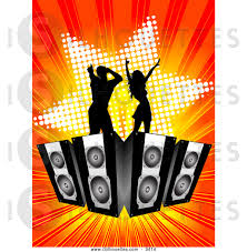 dj speakers clipart. black and red speakers clipart dj