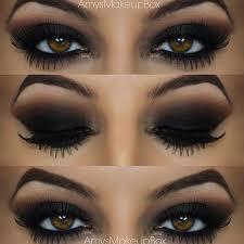 black smokey eye for brown eyes stylexpert