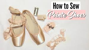 Suffolk Pointe Shoes Size Chart How To Sew Pointe Shoes Suffolk Dance
