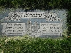 Ida Giles Sharp (1895-1988) - Find A Grave Memorial