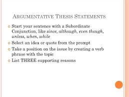 example refutation argumentative essay