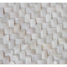 white shell wall tiles arched mother of pearl tile herringbone mosaic patterns mpd010 kitchen backsplash