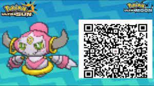 Qr code ultra sun | Pokemon moon qr codes, Pokemon, Hoopa