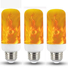 Flame Effect Light Bulb Uk Albn Led Flame Light Bulb E14 3w Flame Effect Flickering