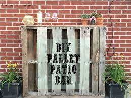 diy pallet patio bar. Diy Pallet Patio Bar .