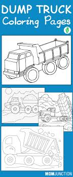 print coloring page and book trucks transportation coloring pages top 10 printable dump truck coloring pages online