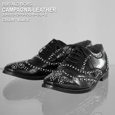 campagna leather campagna leather studs wing tip leather shoes buffalo bobs buffalo
