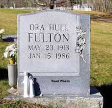 Ora Hull Fulton (1913-1986) - Find A Grave Memorial