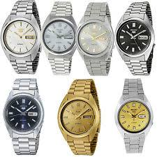 seiko 5 automatic wristwatches seiko 5 mens stainless steel bracelet automatic watch rrp £129