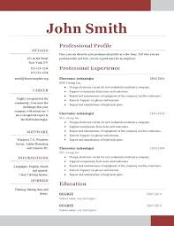Free Resume Templates For Word 2010 Extraordinary Free Downloadable Resume Templates For Word 48 Plus Free