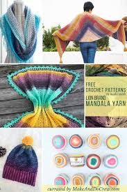 Mandala Yarn Crochet Patterns