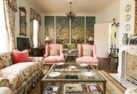 Small Picture Asian Living Room Design With Wall Arts And Mirror And Floral
