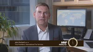 MNP Minute - Has your tax strategy gone global? - YouTube
