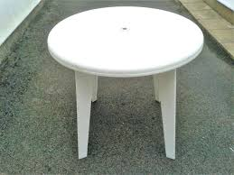round plastic outdoor tables white round plastic garden table with removable legs only outdoor tables