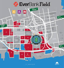 Tiaa Everbank Seating Chart Everbank Field Jacksonville Fl Seating Chart View