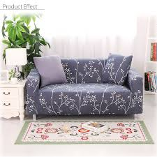 2 4 seat elastic stretch slip sectional sofa couch cover protector with foam bars pillow
