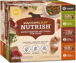 Rachael Ray Nutrish Natural Variety Pack Wet Dog Food 8 Oz Tub Case Of 6
