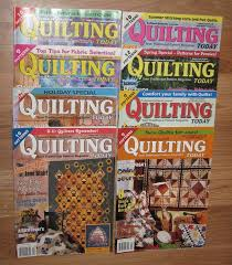 13 best Quilting Patterns and Instruction Books images on ... & Vintage Lot of 8 Quilting Today Magazines 2002 03 Adamdwight.com