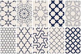 Islamic Art Vector Patterns Graphic Patterns Creative Market Extraordinary Pattern