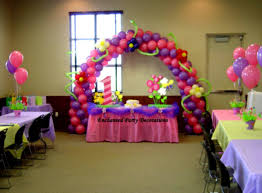 birthday party balloons decoration ideas for-girls table decor page