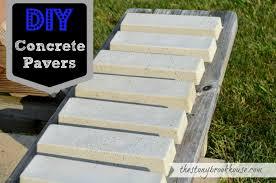 diy pavers. Modren Diy DIY Concrete Pavers For Diy T
