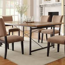 wrought iron and wood furniture. Dining Table Wrought Iron Base Grogan Solid Wood Dallas Ranch Grill Room And Furniture I