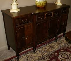 walnut plete antique dining room suite