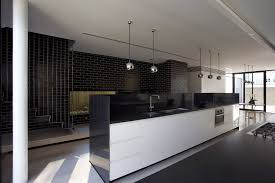 interior designs architecture black white interior design with contemporary residence interior with modern kithen island and black white interior design