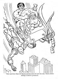 Iron man printable coloring pages. Marvel Christmas Coloring00045 Christmas Coloring Books Superhero Christmas Christmas Coloring Pages