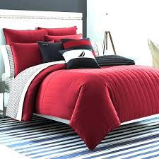 s red comforter sets queen solid