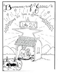 Nativity Coloring Pages Printable Characters Sheet Scene 1138 Get