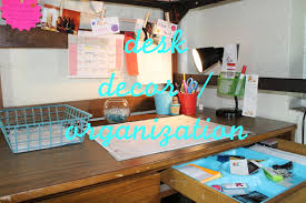 decorating your office desk. Enchanting How To Organize Your Bedroom Pictures Decoration Inspirations: Organizing/Decorating Desk Elodie Decorating Office