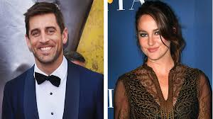 Rodgers, we now know, began dating actress shailene woodley after the split. Who Is Aaron Rodgers Mystery Fiancee It S Shailene Woodley Los Angeles Times