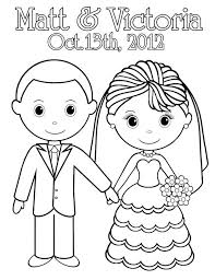 wedding coloring printable personalized activity book favor kids x or template color activities and free pages