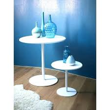 white side tables. Small White Side Tables Bedside Table Oak Round