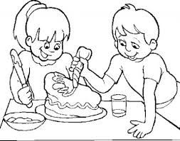 Make A Coloring Page From A Photo regarding Current Household ...