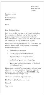 How To Write A Requirement Letter Sample Request Letter Asking For Course Information